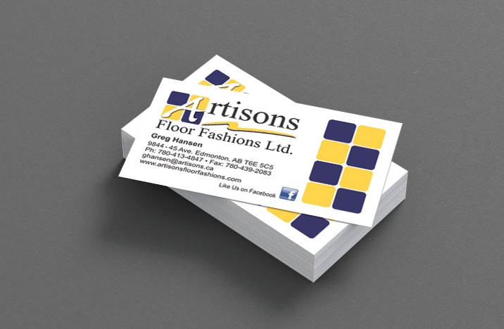 Business Card design and printing in Sherwood Park